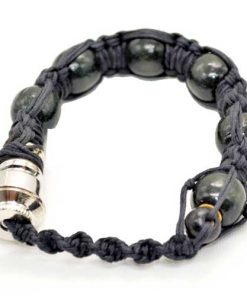 Portable Bracelet Smoking Pipe Black