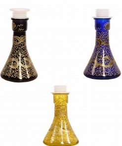 HOOKAH GLASS WATER VASE