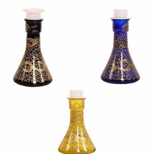 HOOKAH GLASS WATER VASE