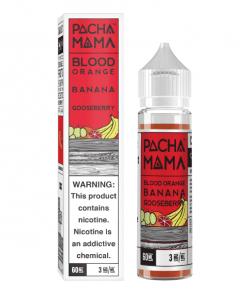 60mL Pacha Mama - Blood Orange Banana Goosberry