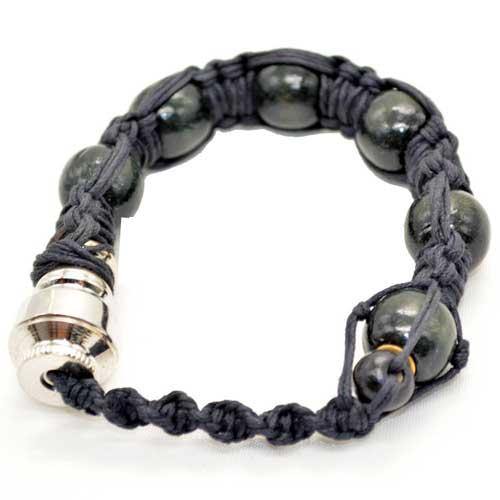 Portable Bracelet Smoking Pipe Black