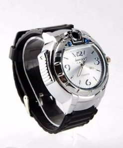 Buy Refillable Butane Gas Cigarette Lighter Watch Silver Nigeria