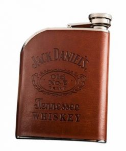 Jack Daniel's Whiskey Stainless Steel Movement Flask