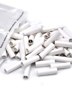Natural Unrefined Pre-Rolled Tips Slim Cigarette Paper-5mm