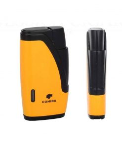 Cohiba 2 Torch Jet Flame Gas Butane Lighter