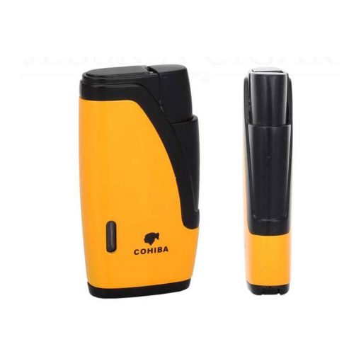 Cohiba 2 Torch Jet Flame Gas Butane Lighter