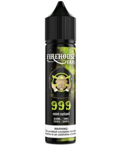 Firehouse By 999 Ejuice- Mint Custard