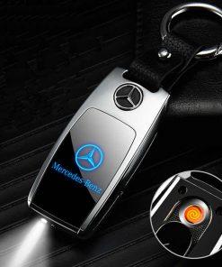 Mercedes Benz Car Key Holder Lighters
