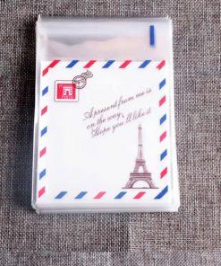 Paris Design Packaging Plastic Bags