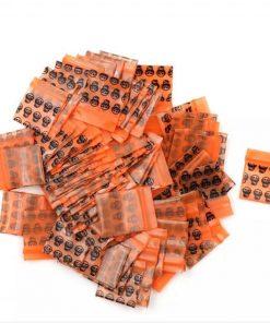 Plastic Packaging Ziplock Bags- 100pcs
