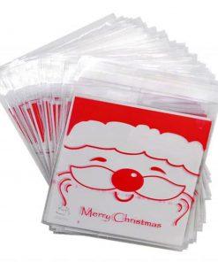 Christmas Cookie Packaging Self-adhesive Plastic Bags