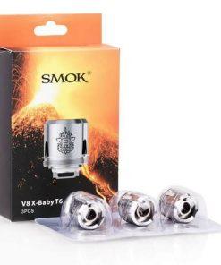 Smok V8 X-baby T6 Coils