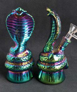 Colorful Cobra Water Smoking Bongs